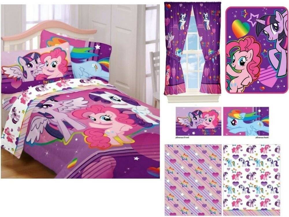 Best 28 My Pony Comforter Set 5Pc Twin Single My With Pictures