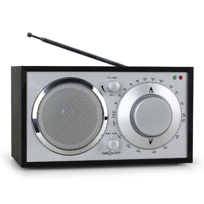 Best Oneconcept 1960S Retro Compact Kitchen Bedroom Radio Fm With Pictures