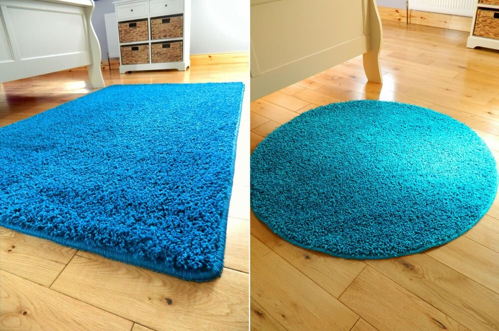 Best Small Large Teal Non Slip Washable Soft Bedroom Carpet With Pictures