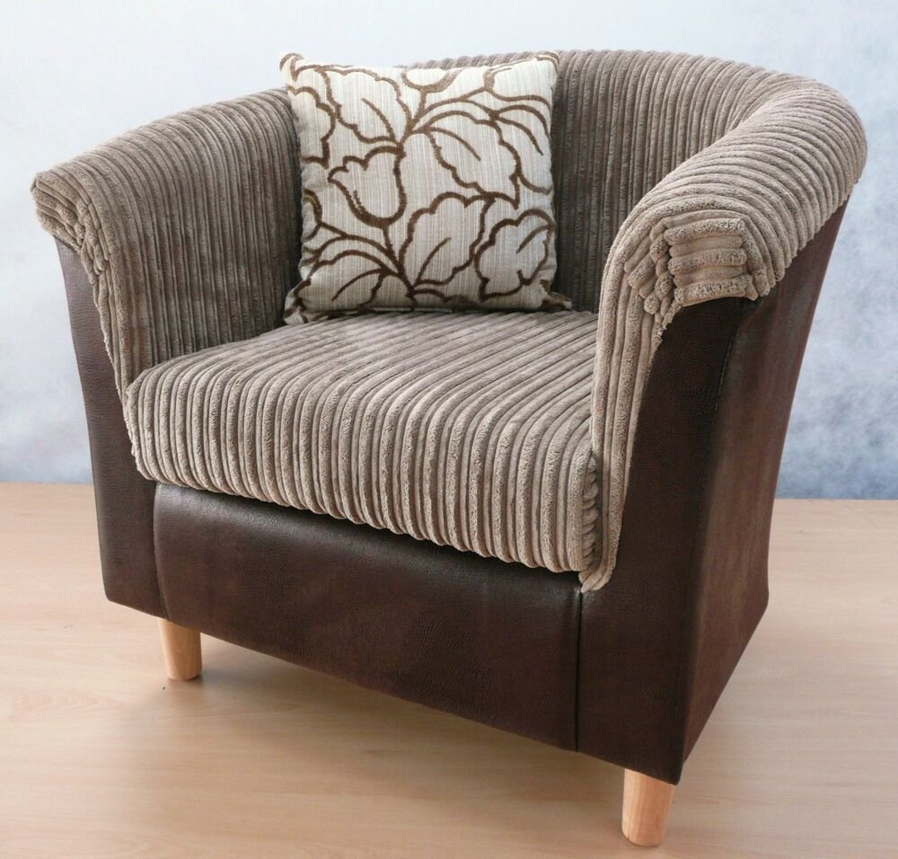 Best Luxury Brown Snake Camel Cord Tub Chair Armchair Bedroom Chair Ebay With Pictures