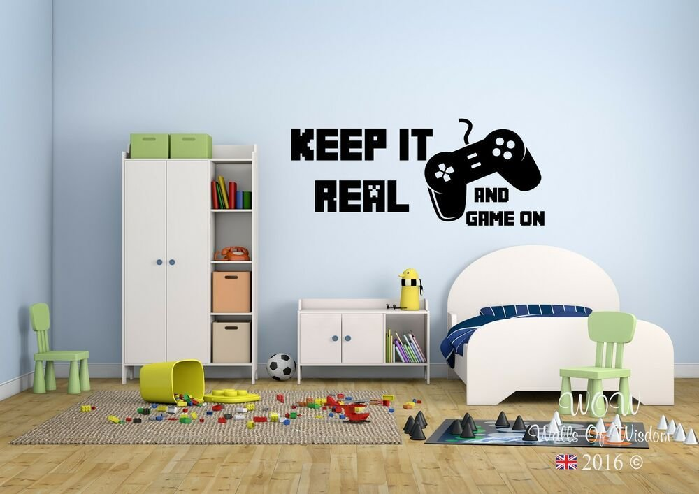 Best Children Teenager *D*Lt Bedroom Wall Sticker Keep It Real With Pictures