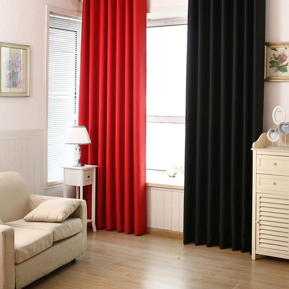 Best Blackout Room Darkening Curtains Window Panel Drapes With Pictures