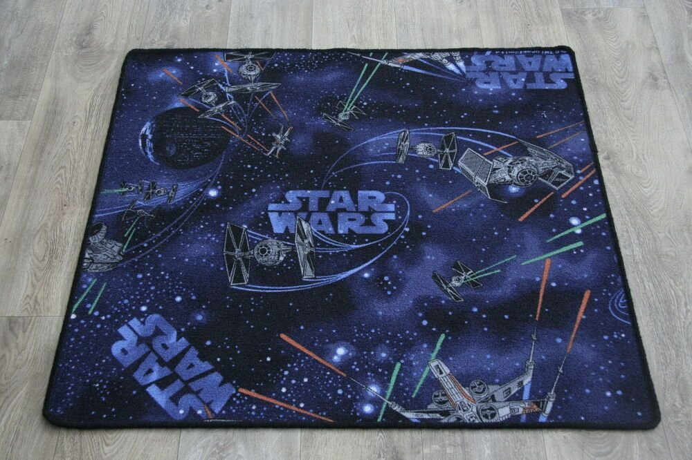 Best Quality Star War S Rug Spaceships 4 Sizes In Stock Star Wars Bedroom Rug Mat Ebay With Pictures
