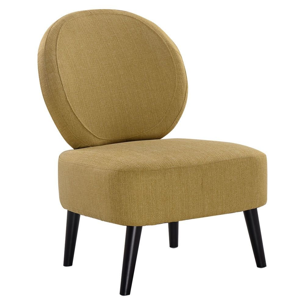 Best Armless Accent Chair Round Back Dining Chair Home Living With Pictures