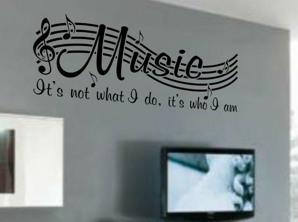 Best Music Is Not Vinyl Wall Quote Word Decal Dance Musical With Pictures