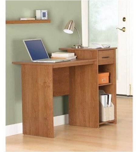 Best Compact Student Oak Desk T**N Kids Table Office Bedroom With Pictures
