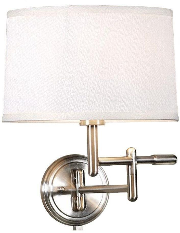 Best White Pivoter Swing Arm Wall Lamp Light Home Bedroom With Pictures