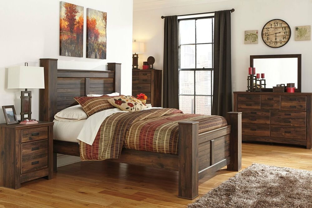 Best Ashley Furniture B246 Quinden Queen King Poster Storage With Pictures