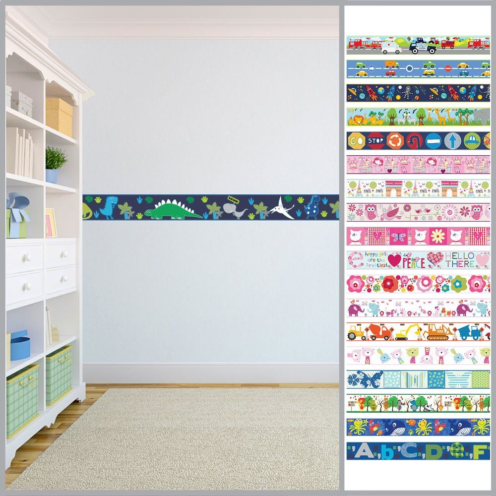 Best Wallpaper Borders Children S Kids Nursery Boys Girls With Pictures