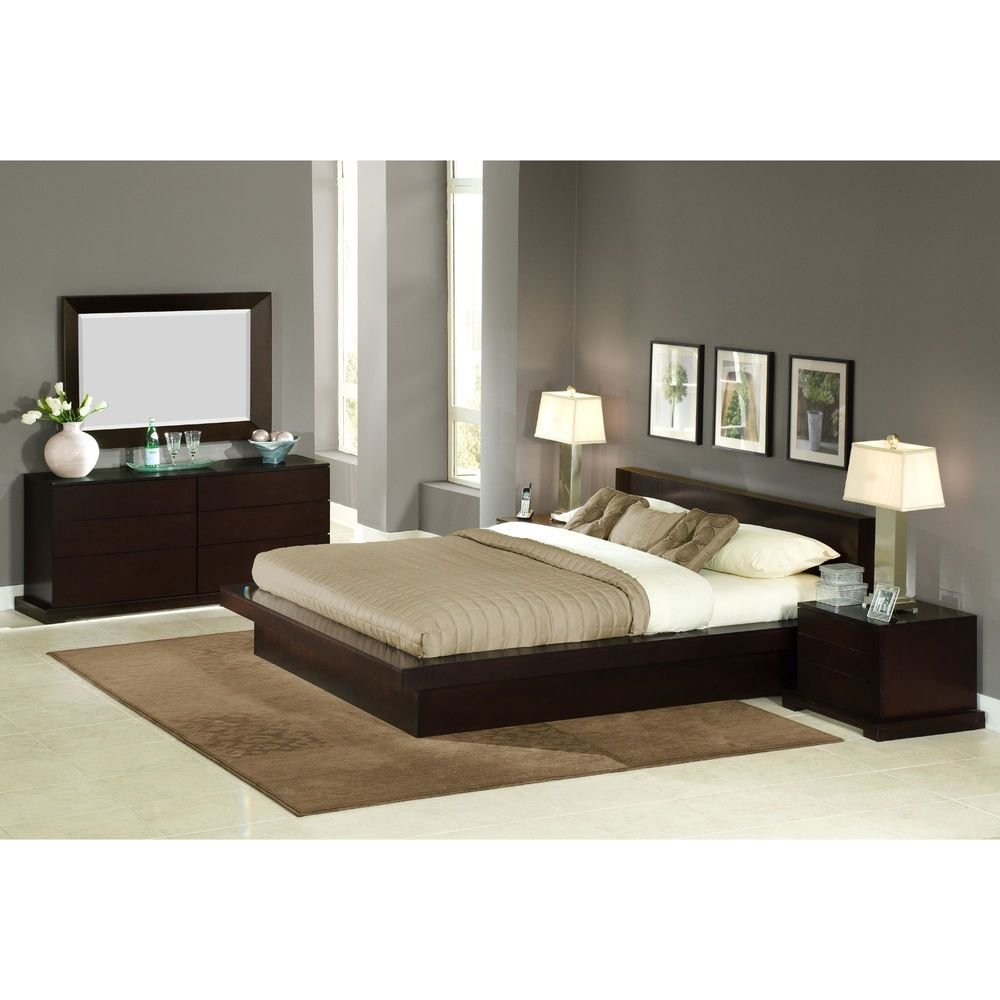 Best Zurich Modern Platform Bedroom Collection On Sale Ebay With Pictures