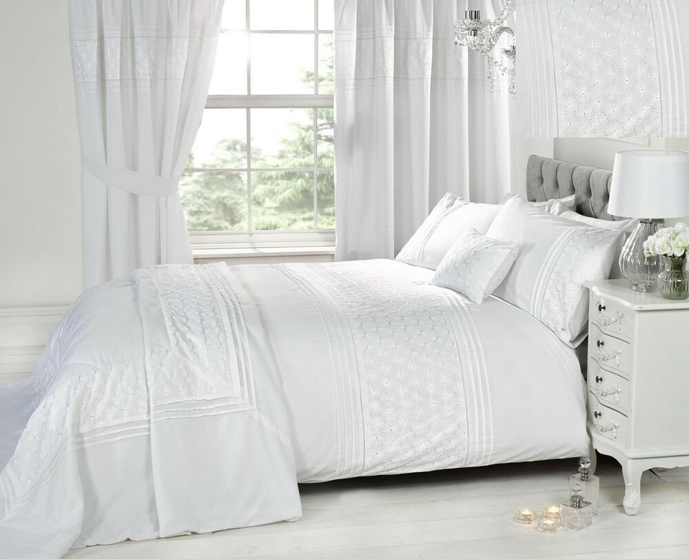 Best Luxury White Bedding Bed Sets Or Curtains Matching With Pictures