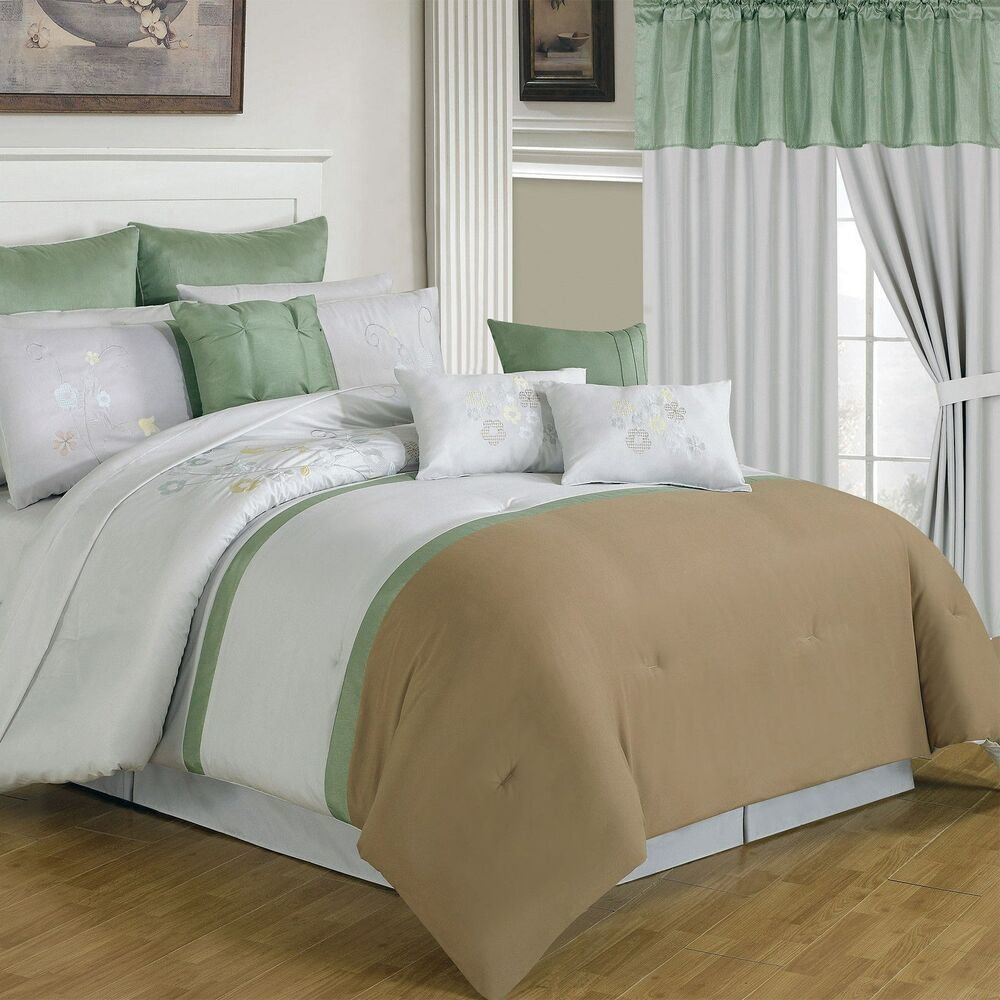 Best Lavish Home 24 Piece Room In A Bag Elizabeth Bedroom With Pictures