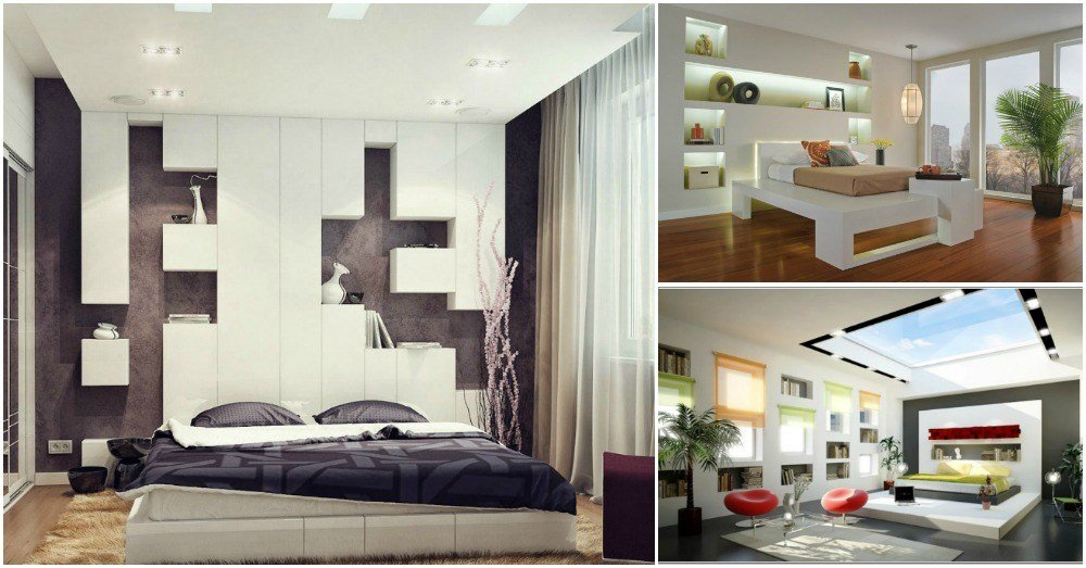 Best Decorative Bedroom Niches That Are Also Really Functional With Pictures