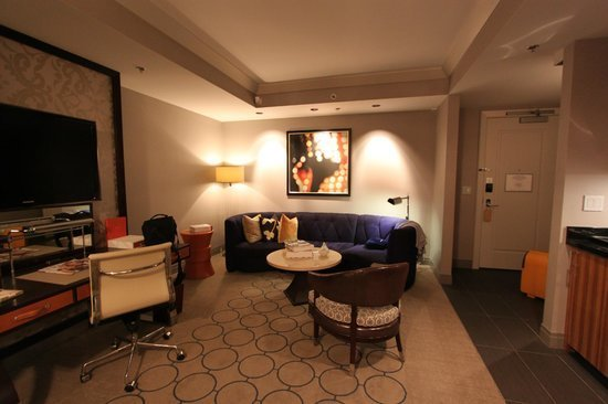 Best Seating Area Terrace One Bedroom Picture Of The Cosmopolitan Of Las Vegas Las Vegas Tripadvisor With Pictures