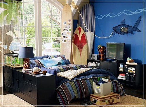 Best Any Cool Ideas For A Surfer Unique Bedroom Awesome With Pictures
