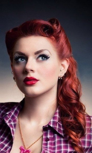 Free 15 Pin Up Hairstyles Easy To Make Yve Style Com Wallpaper