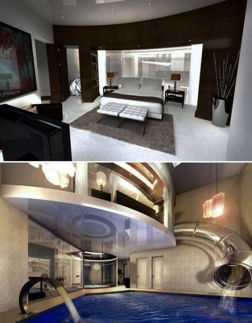 Best Aous Dream Bedroom Water Slide From The Bedroom And With Pictures