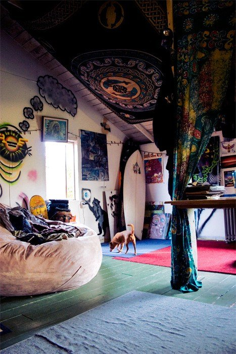 Best Hippie Room Bedroom Design Boho Surf Bohemian Surfboard With Pictures