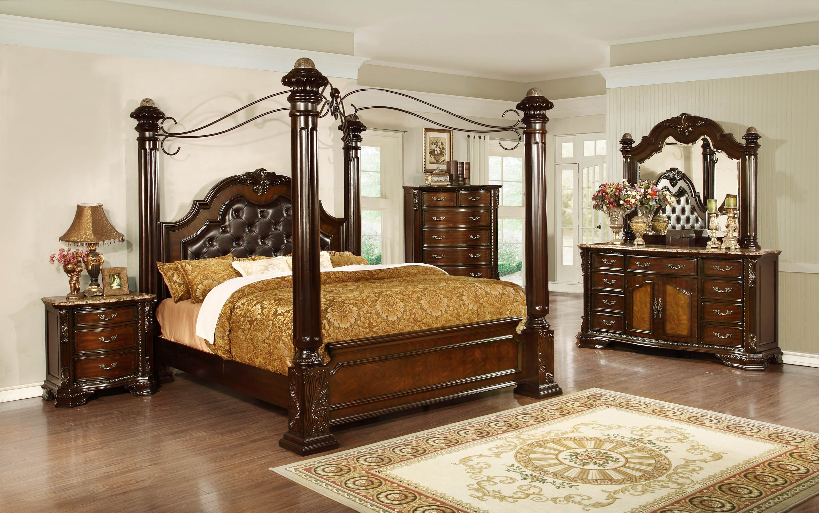 Best 6Pc King Bedroom Set Bel Furniture Houston San Antonio With Pictures