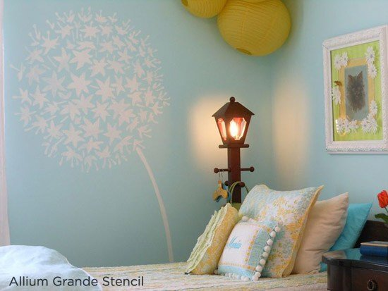 Best Stenciled Rooms In Bloom With Pictures