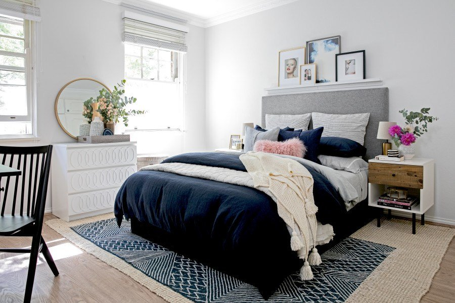 Best Interiors Addict S Bedroom Makeover Front Main With Pictures