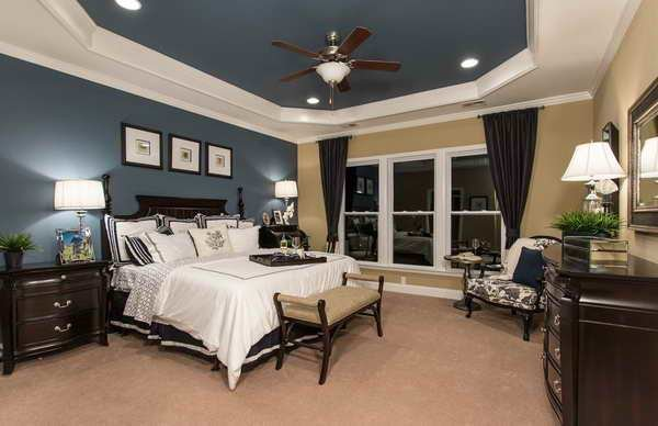 Best Bloombety Master Bedroom Floor Plans With Fans Hanging With Pictures