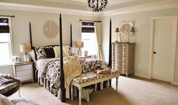 Best Bloombety Parisian Style Bedroom With Unique Wardrobe Parisian Style Bedroom For Romantic Room With Pictures
