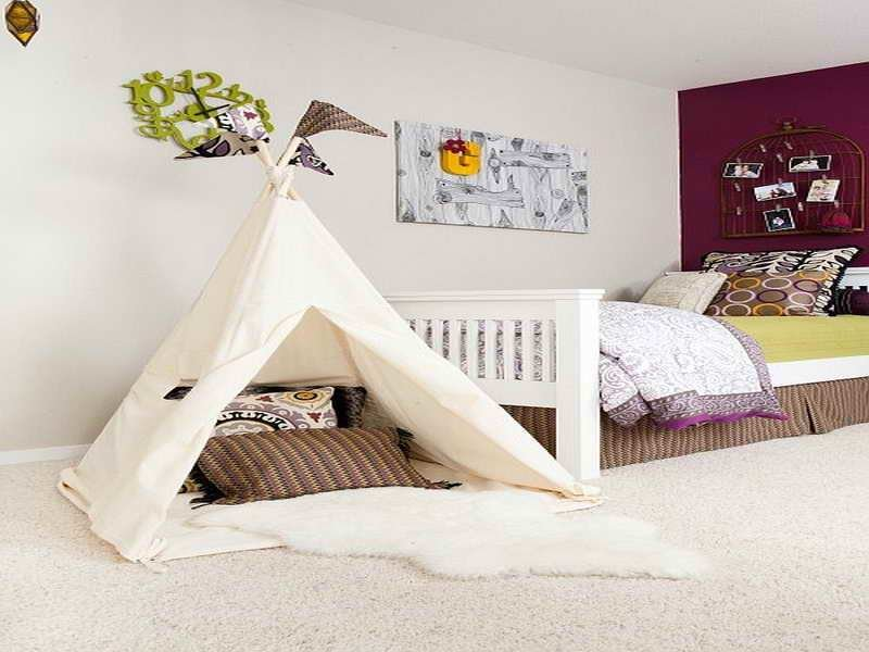 Best Bloombety Kids Bedroom Ideas For Small Rooms With Tent With Pictures