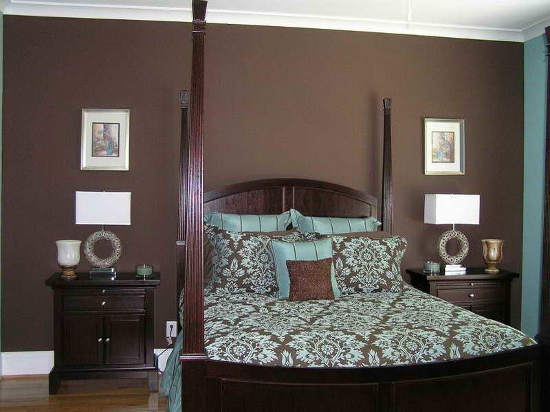 Best Bloombety Master Bedroom Painting Ideas With Brown Wall With Pictures
