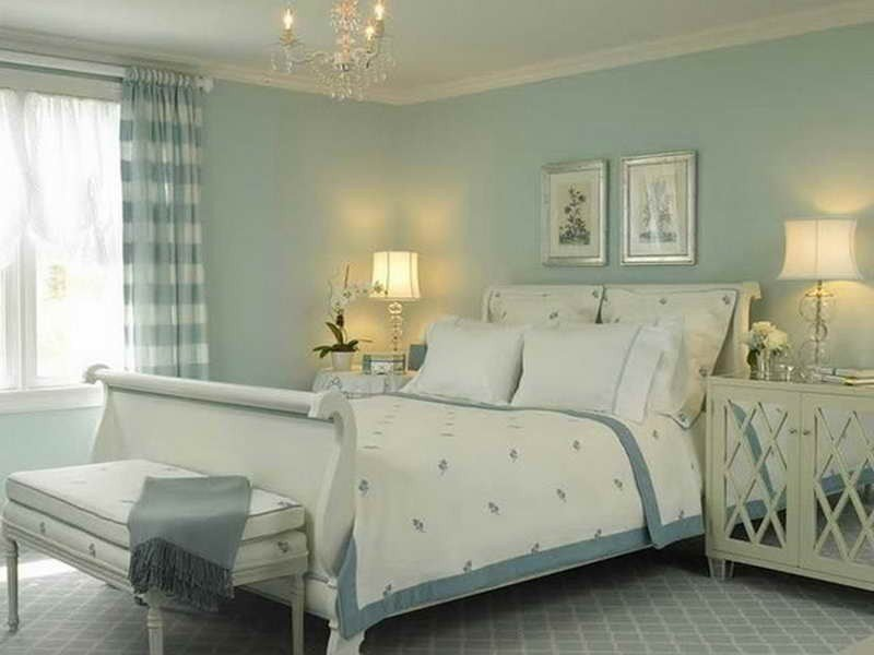 Best Bloombety Beautiful White Blue Romantic Bedroom Colors With Pictures