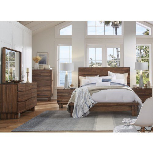 Best Ocean 4 Piece Queen Bedroom Suite With Dressing Table Mirror The Furniture Trader With Pictures