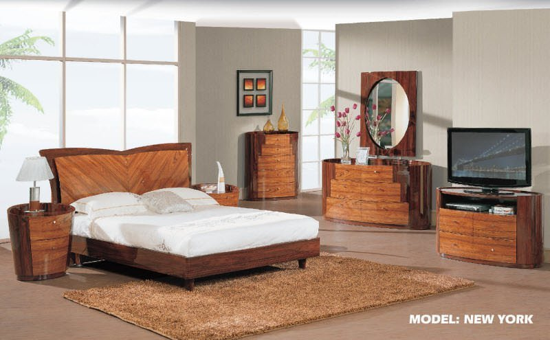 Best New York Kokuten Glossy Bedroom Set By Global Furniture With Pictures