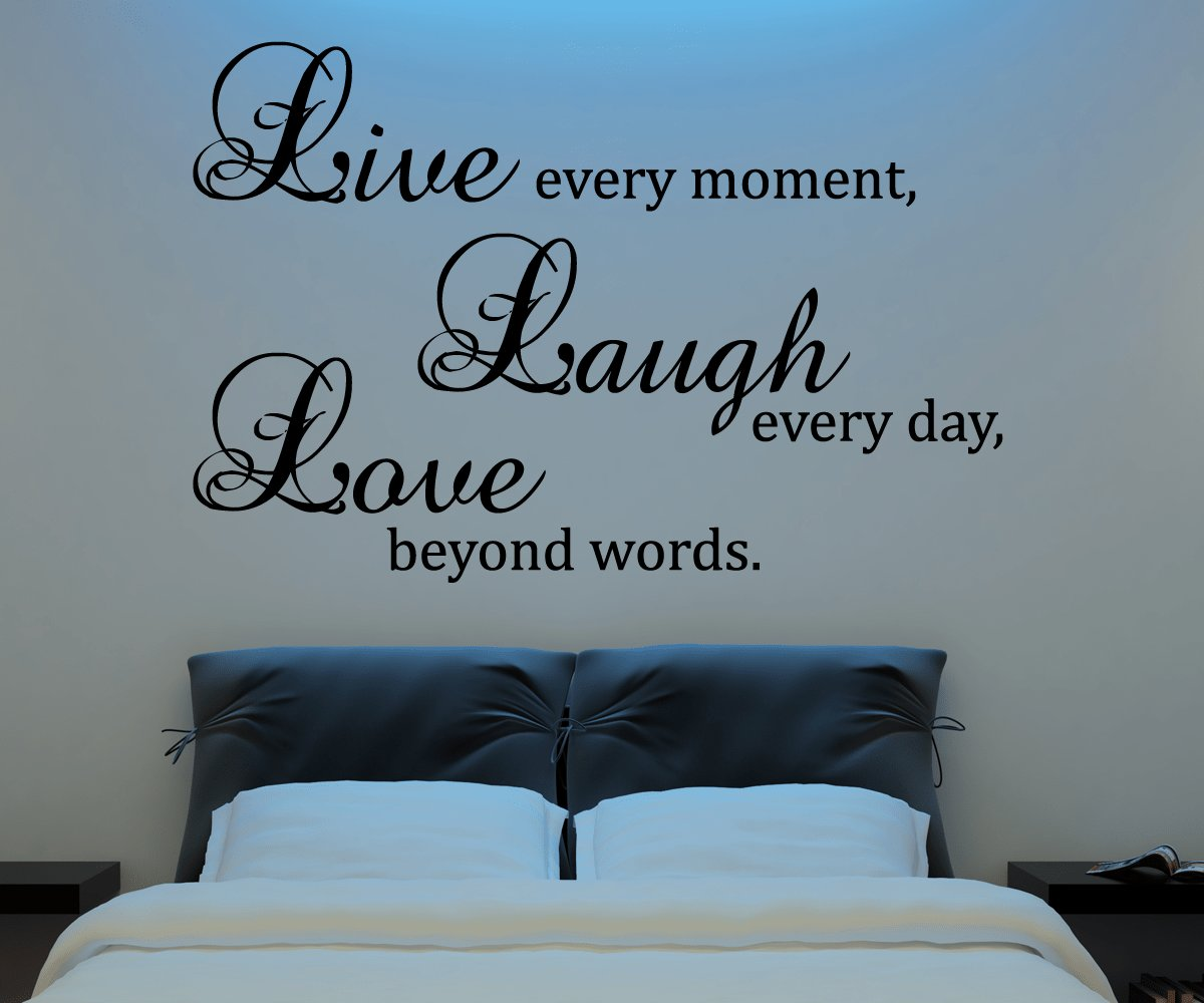 Best Live Laugh Love Wall Decal Vinyl Sticker Quote Art Living Room Dining Room Decor On Luulla With Pictures