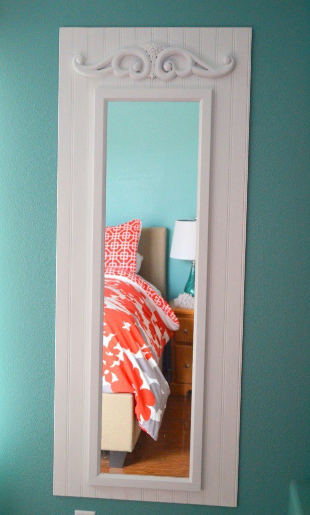 Best Diy Upgraded Full Length Mirror Master Bedroom Project With Pictures