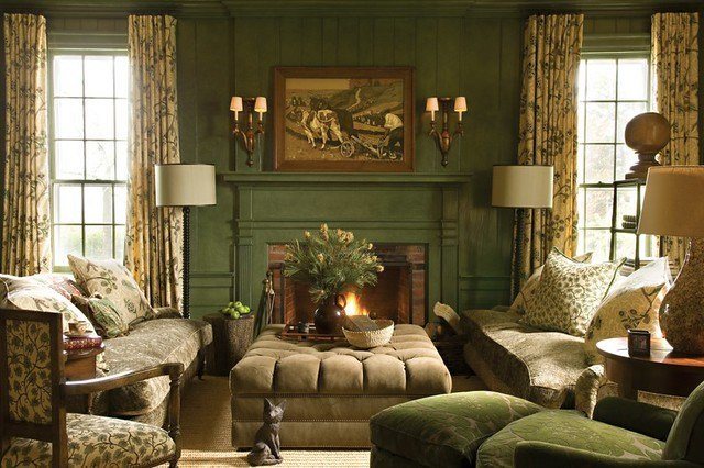 Best Calke Green By Farrow Ball Living Room By Barry Dixon With Pictures