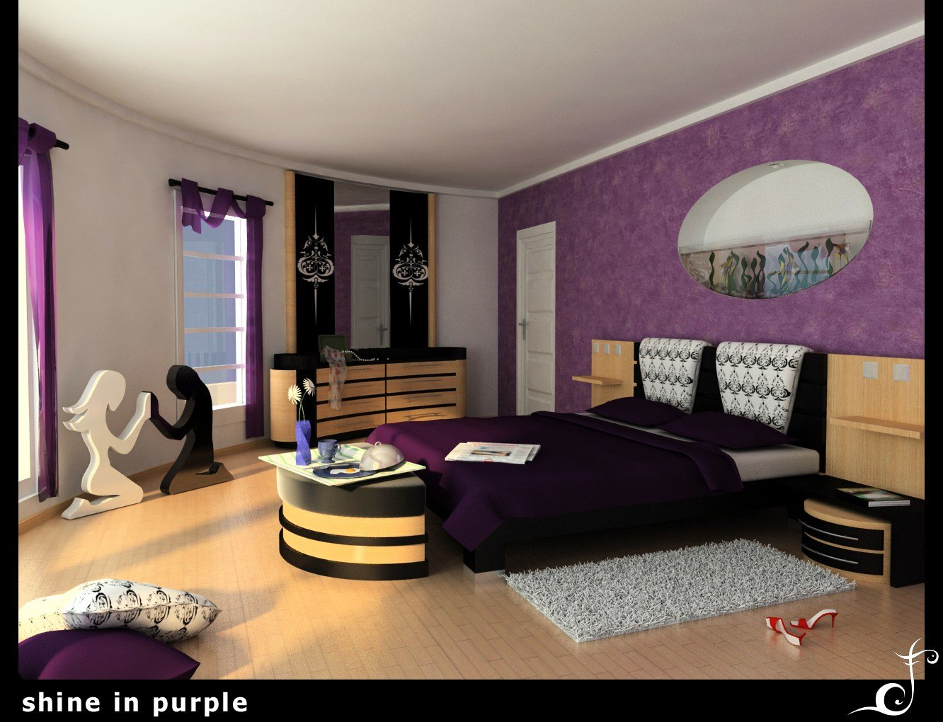 Best 25 Impossible Purple Bedroom Ideas Slodive With Pictures
