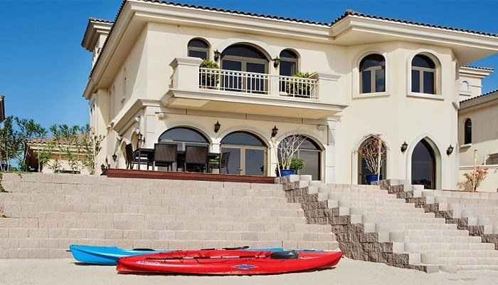 Best 4 Bedroom Beach Holiday Villa On Jumeirah Palm Dubai With Pictures