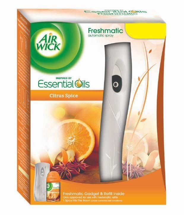Best Airwick Freshmatic Automatic Air Freshener Citrus Spice Buy Online At Best Prices In India With Pictures