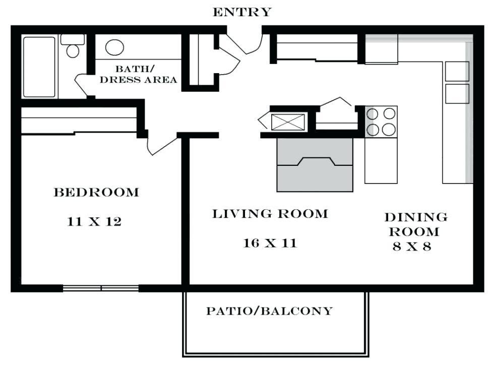 Best Average 2 Bedroom Apartment Size Interior Design With Pictures