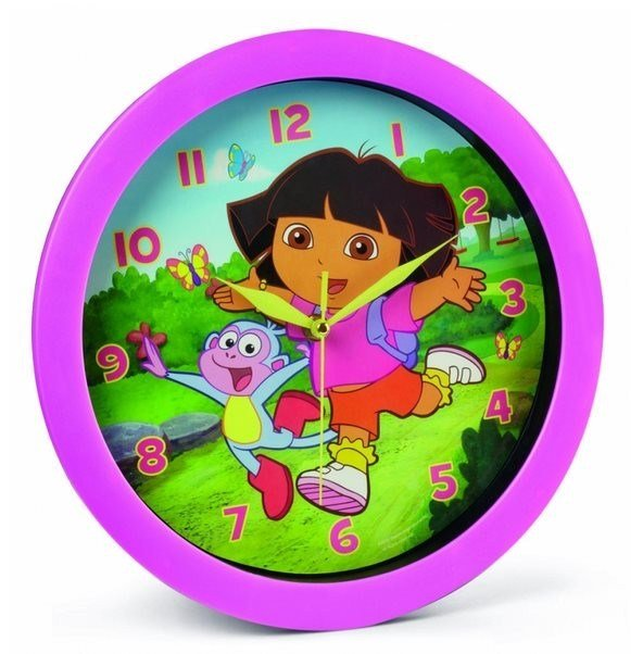 Best Katzwhiskas Dora The Explorer Wall Clock With Pictures