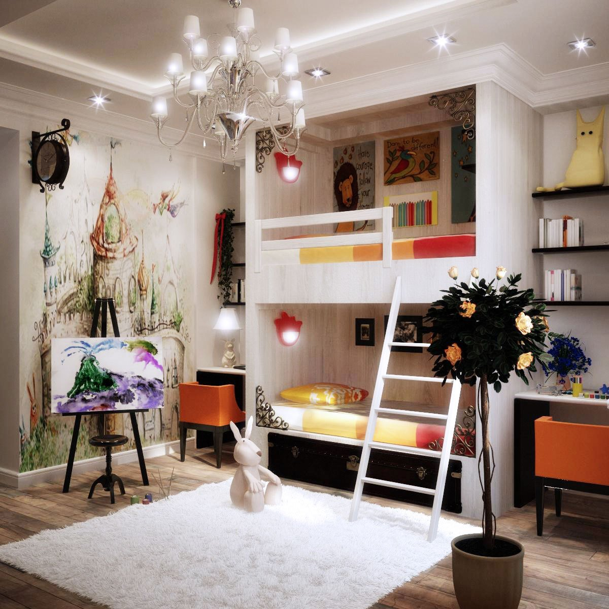 Best Colorful Kids Rooms With Pictures