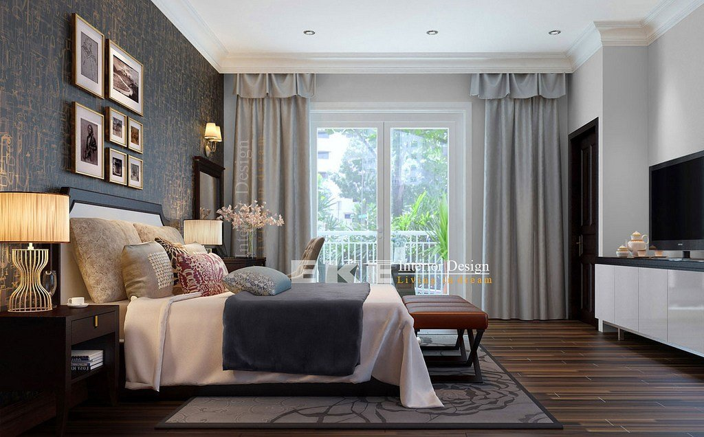 Best Tuananh Eke's Dark Wood Floors Heavily Styled Modern With Pictures