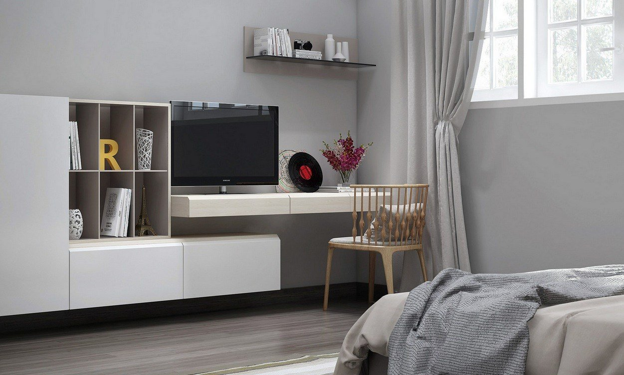 Best Bedroom Tv Unit Interior Design Ideas With Pictures