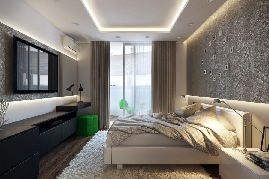 Best White Green Black Bedroom Interior Design Ideas With Pictures