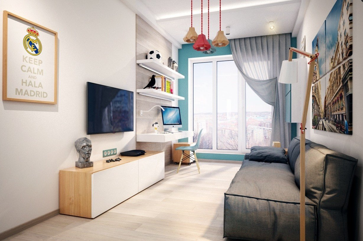 Best Real Madrid Theme Room Design Interior Design Ideas With Pictures