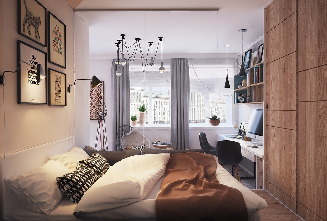 Best Living Small With Style 2 Beautiful Small Apartment Plans With Pictures