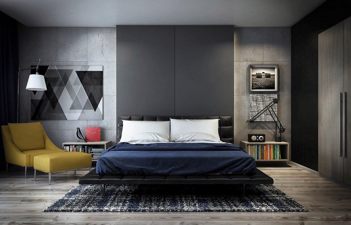 Best Concrete Wall Designs 30 Striking Bedrooms That Use With Pictures
