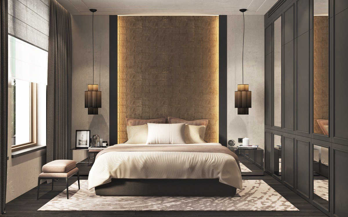 Best 44 Awesome Accent Wall Ideas For Your Bedroom With Pictures