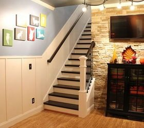 Best Hometalk Board And Batten Remodeled Staircase With Pictures