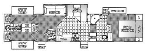 Best Three Bedroom Two Bath Rv With Pictures